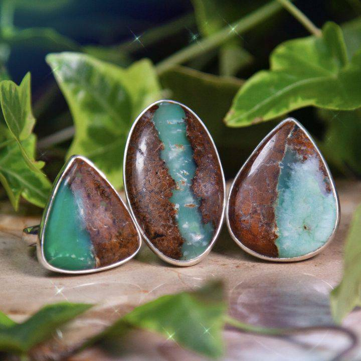 Heart Healing Chrysoprase Rings