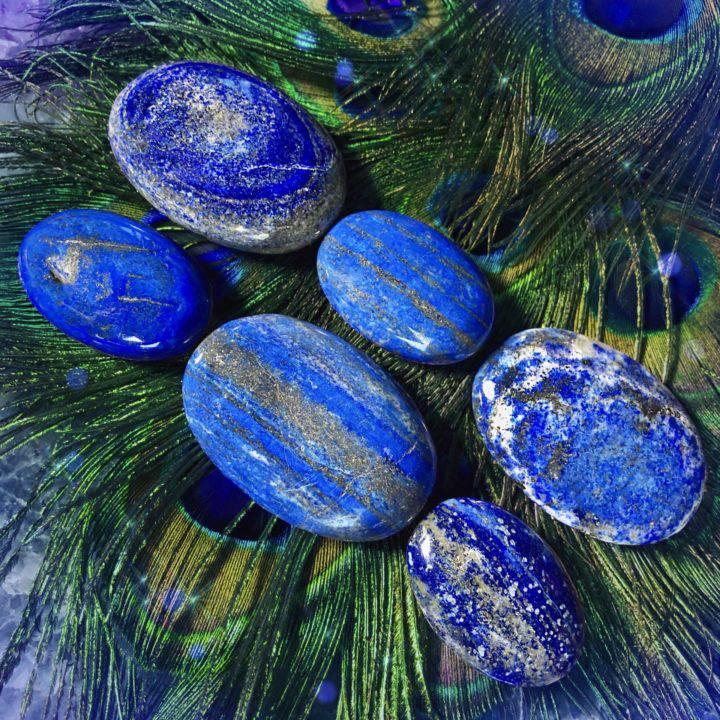 Lapis Lazuli Power Palm Stones