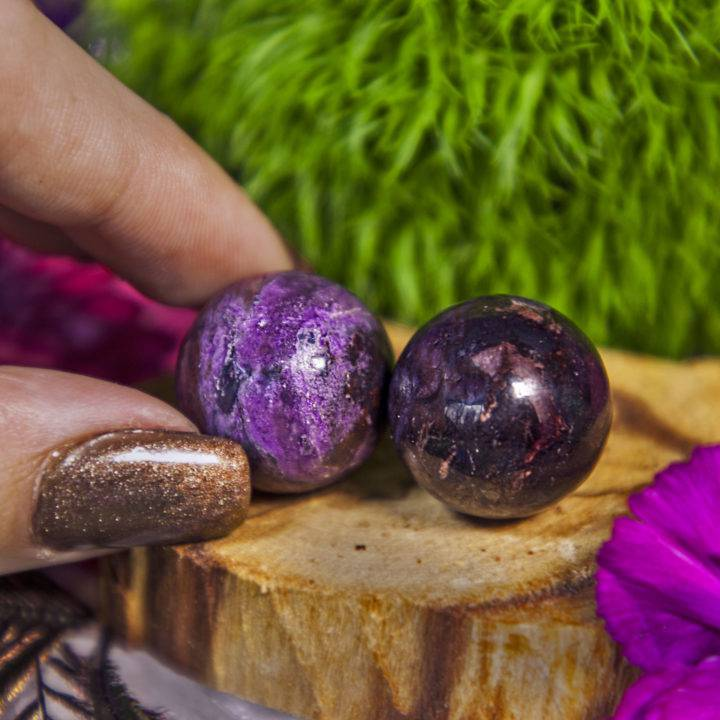 Master Healer Mini Sugilite Spheres