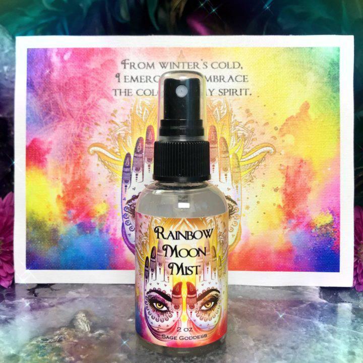 Rainbow Goddess Super Full Moon Set