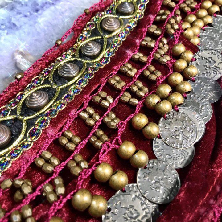 Shakti Sacral Chakra Belly Dance Belts
