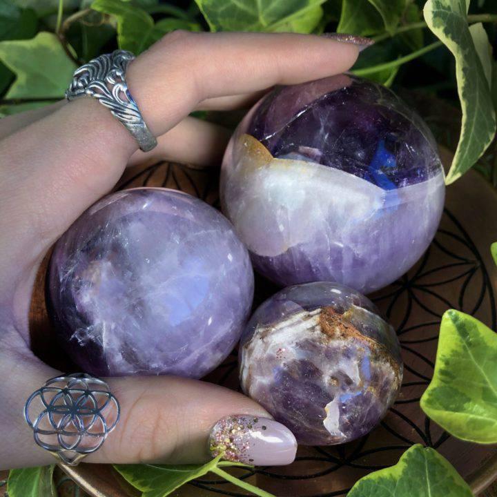 Smamatite spheres