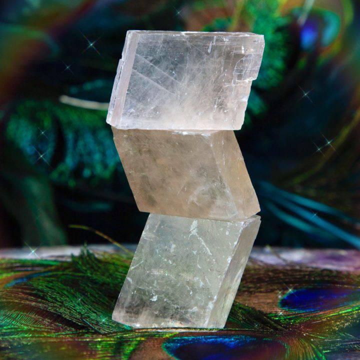 Sweet Love Pink Optical Calcite Rhombohedrons