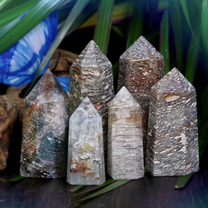 1000 Line Lodolite in Quartz Generators
