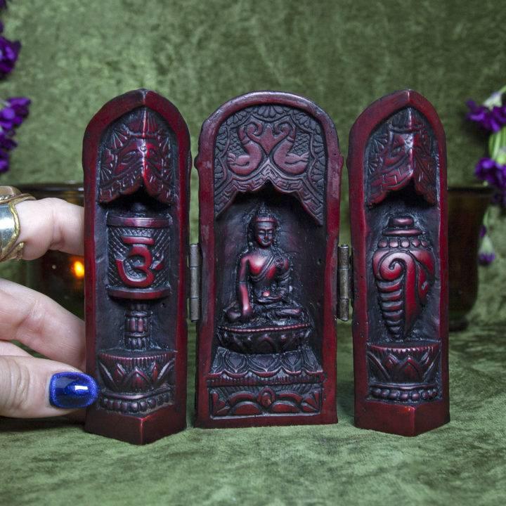 Mini Buddha Traveling Altar