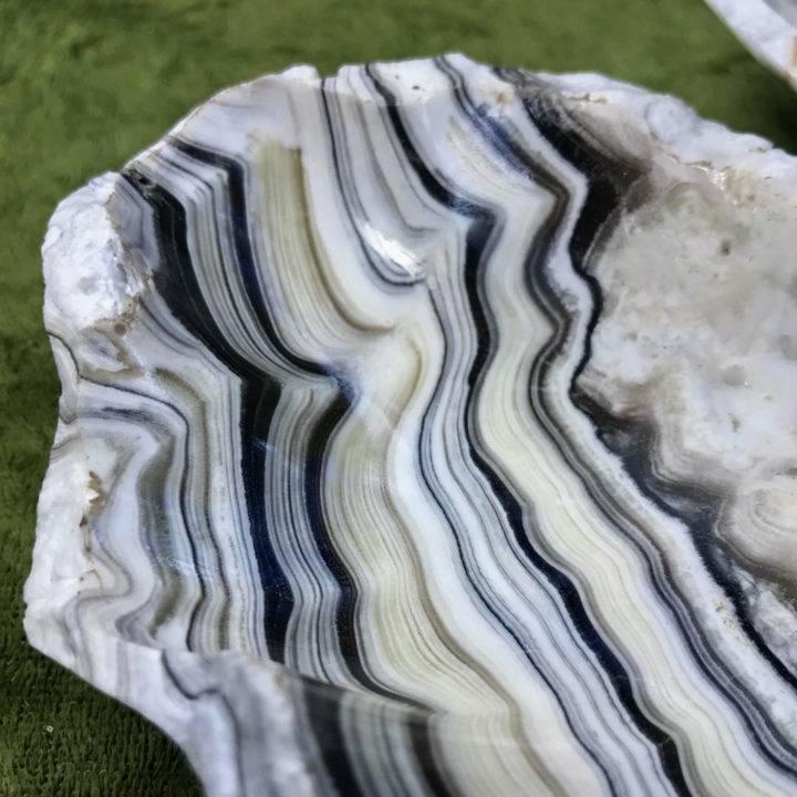 Zebra Onyx Free Form Bowls