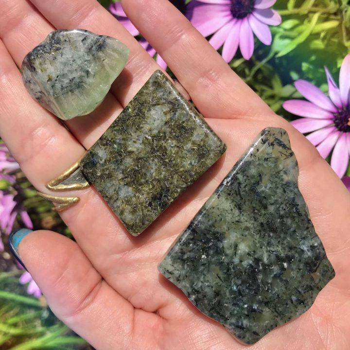 Heal the Healer Prehnite with Epidote
