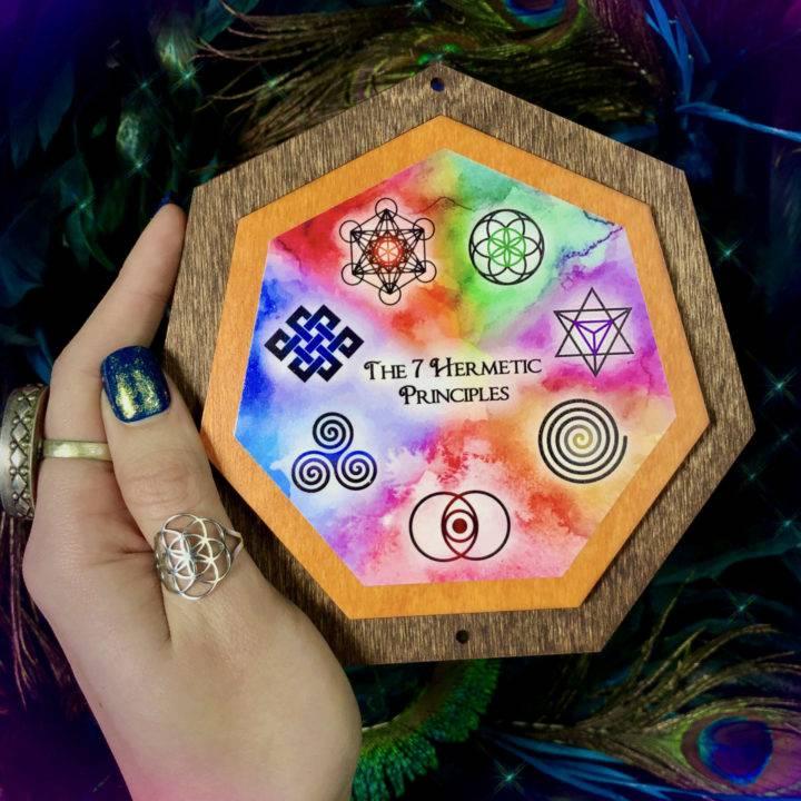 Hermetic Principles Plaques