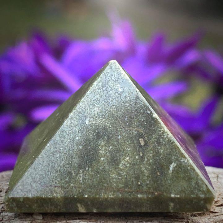 Higher Self Vesuvianite Pyramids