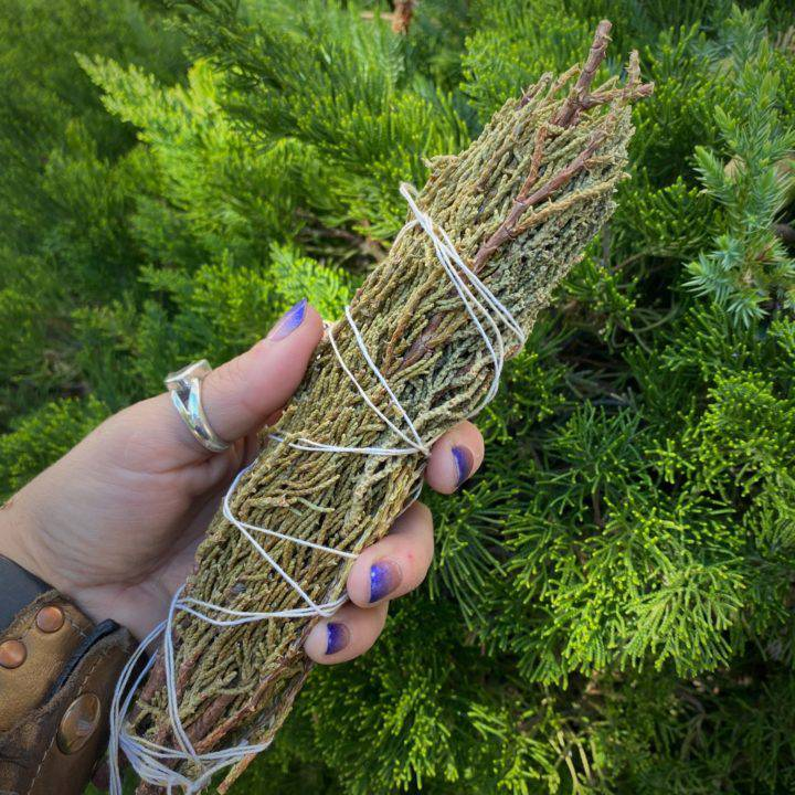 Large Juniper Smudge Bundles