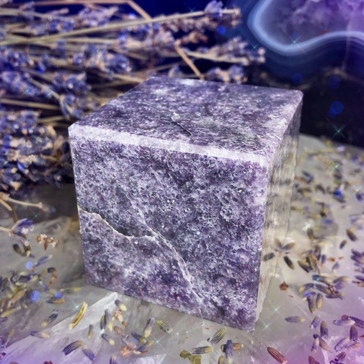 Lepidolite Calming Cubes