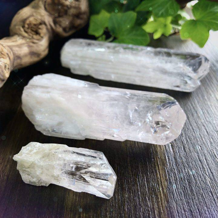 Master Healer Natural Danburite Wands