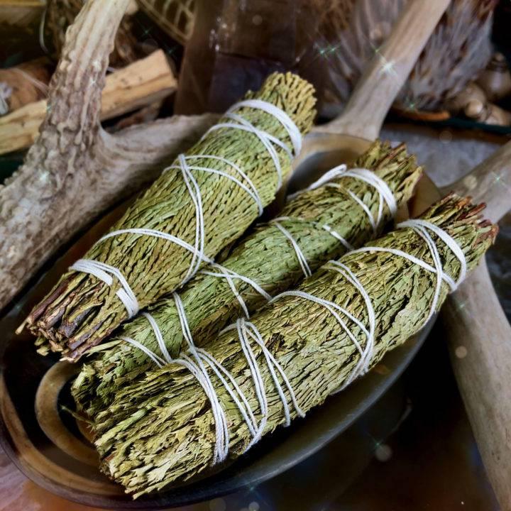 Mini Cedar Smudge Bundles