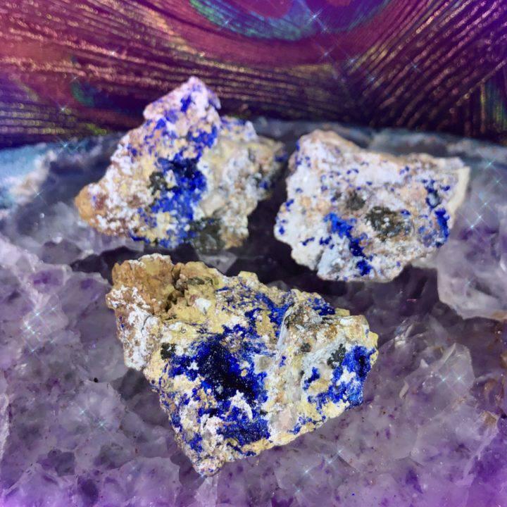 Peaceful Priestess Lavender Azurite