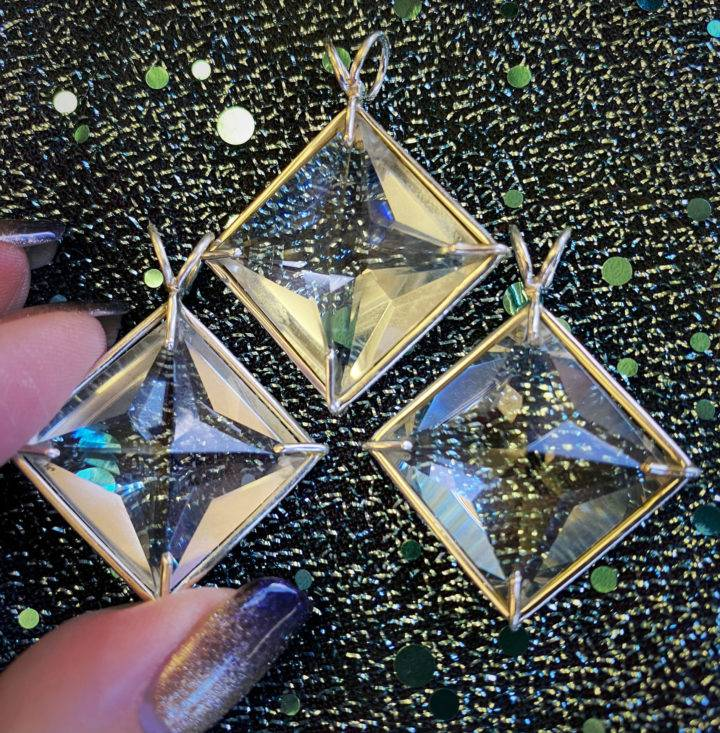 Clear Quartz Magician Pendants