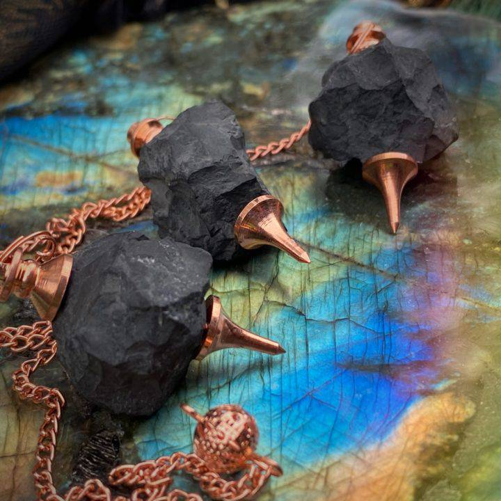 Truth Channeling Shungite Pendulums