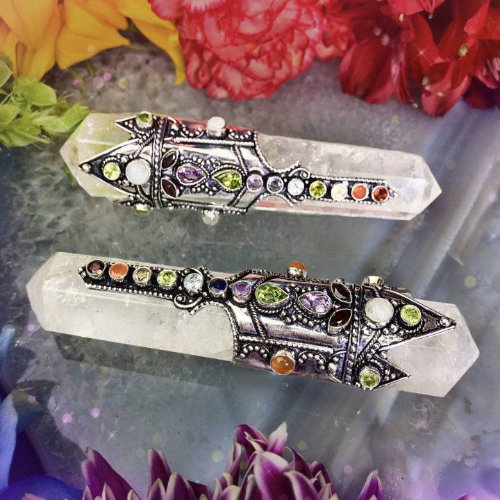 Double-Terminated Chakra Wands