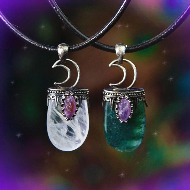 Moon Magic Gemstone Pendants