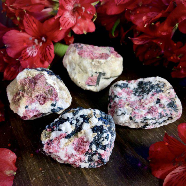 Natural Eudialyte