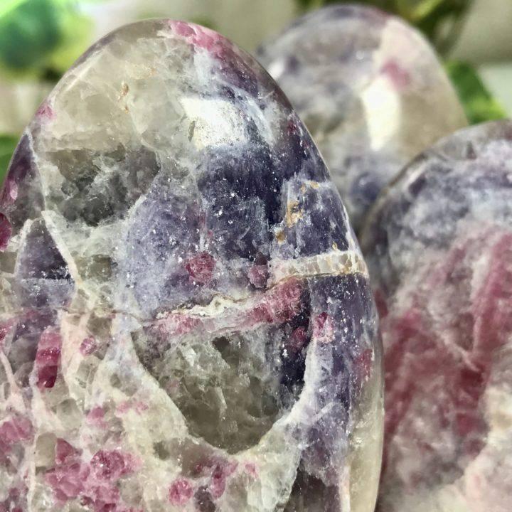 Pink Tourmaline and Lepidolite Pillars