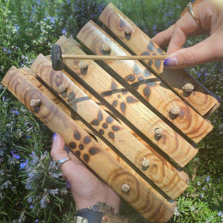 5 Tone Bamboo Xylophones