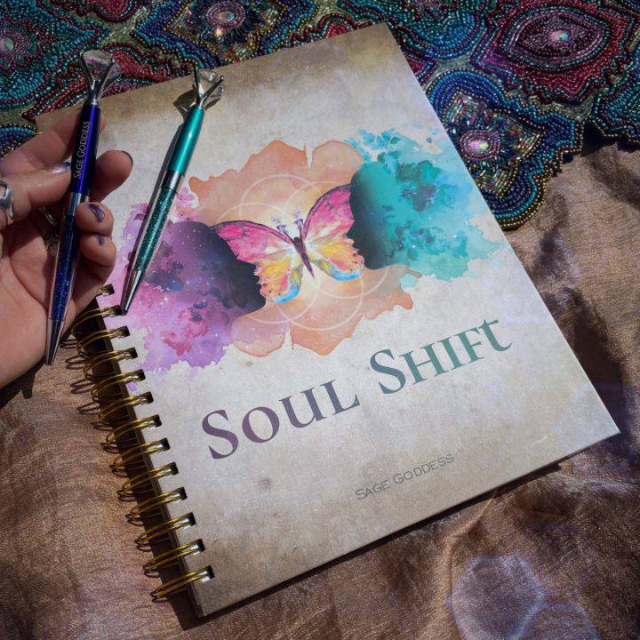 Soul Shift Notebook and Gemstone Pen Sets