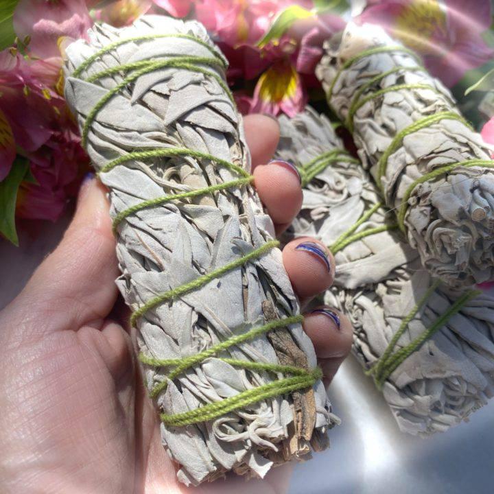 White Sage Mini Smudge Bundles