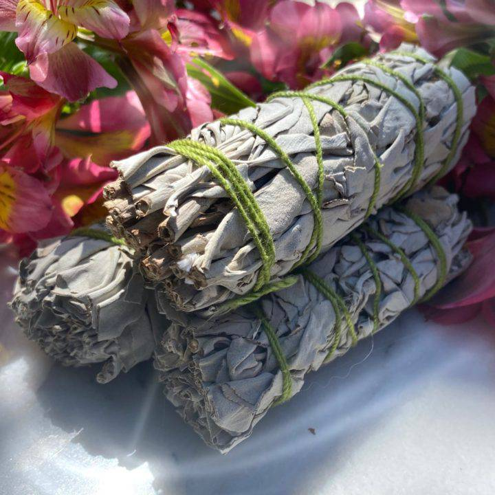 White Sage Mini Smudge Bundles