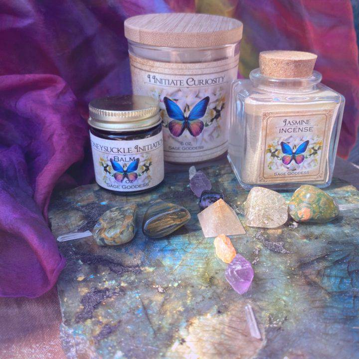 New Moon Enchanted Plant Wisdom: Jasmine and Honeysuckle Set