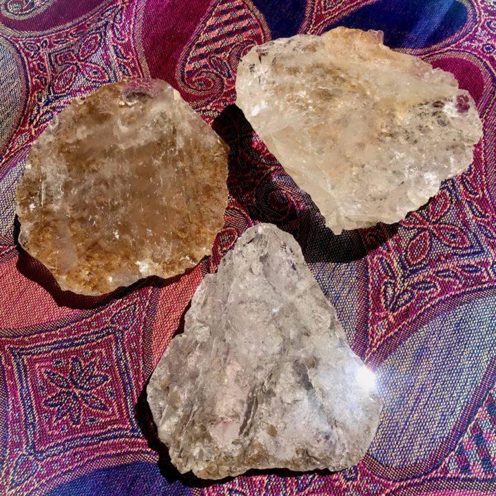 Included Quartz Seer Stones