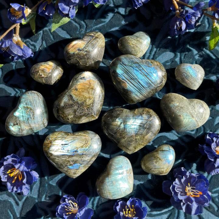 Labradorite Visioning Heart