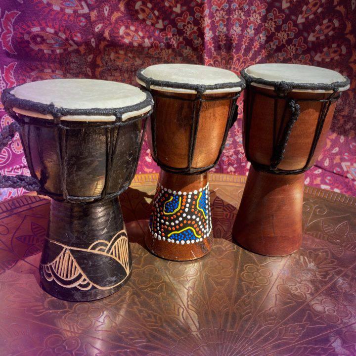 Mini Djembe Peace Drums