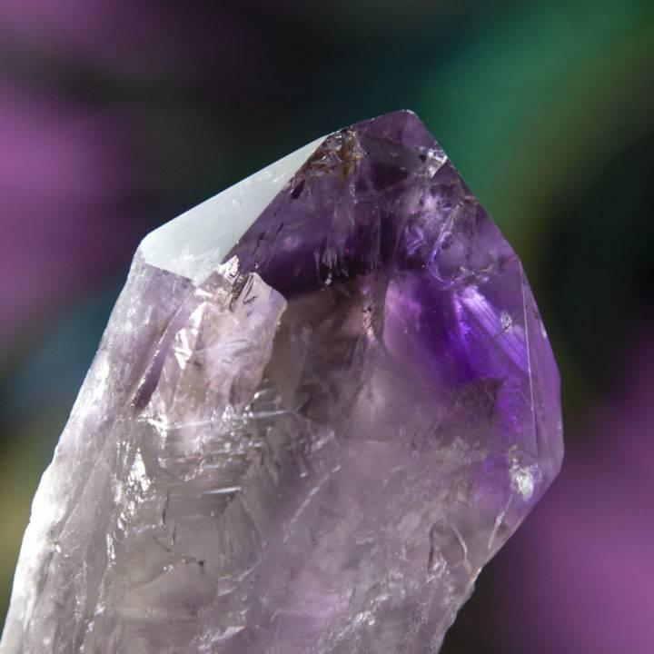 Phantom Amethyst Root Crystals