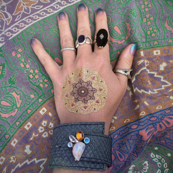 Prosperous Moon Magic Cuff Bracelet