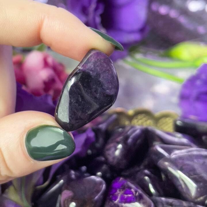 Ultimate Healing Polished Sugilite with Manganese