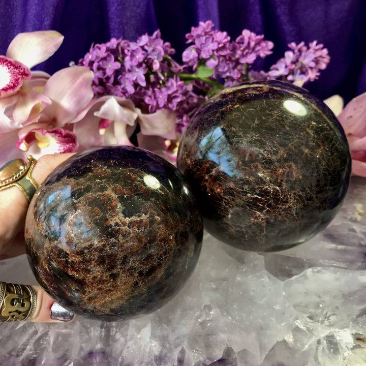 Almandine Garnet Spheres