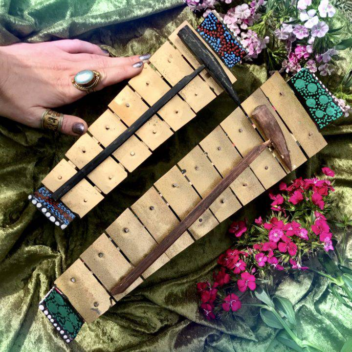 Hand Painted Balinese Xylophones