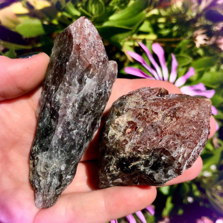 Red Amethyst Grounded Peace Points