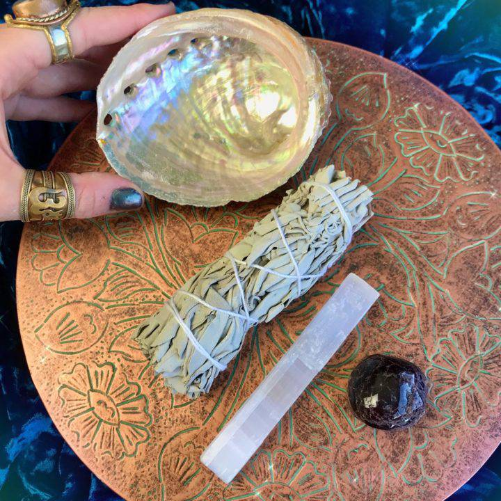 Wise Protection Smudge Set