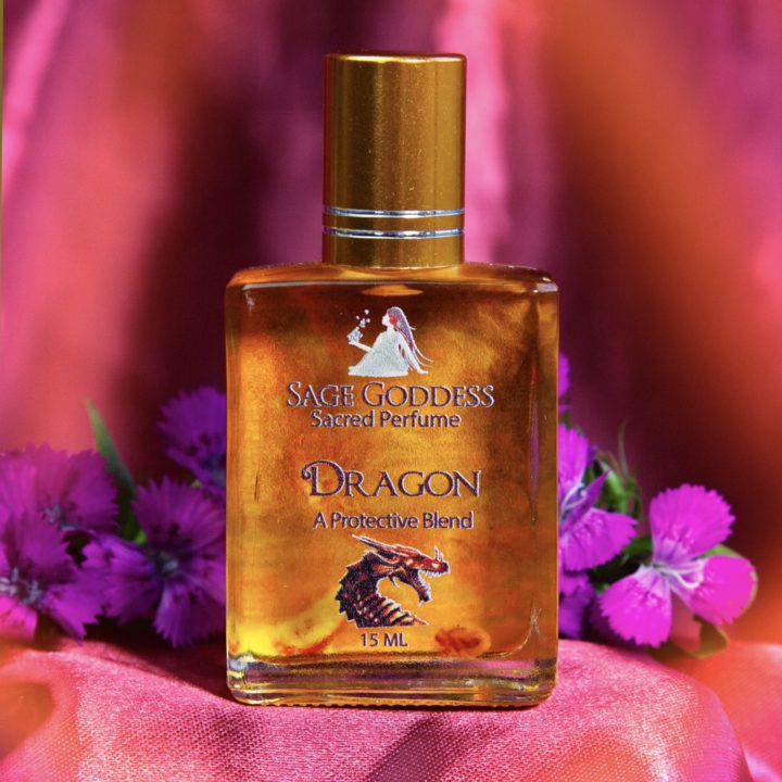 Dragon Fire Perfume and Pendant Duo