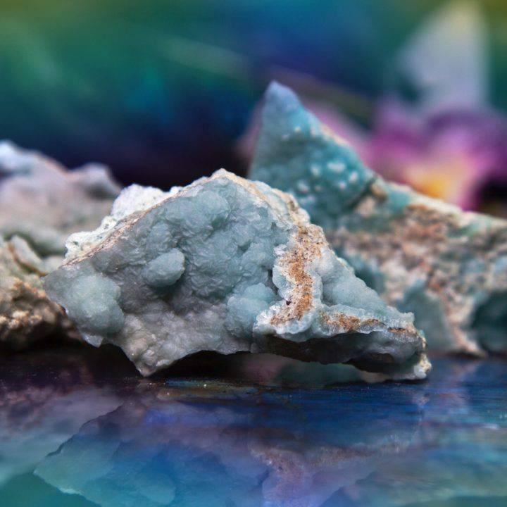 Natural Blue Hemimorphite