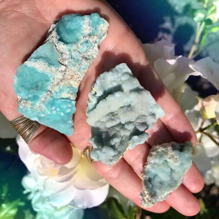 Natural Blue Hemimorphite