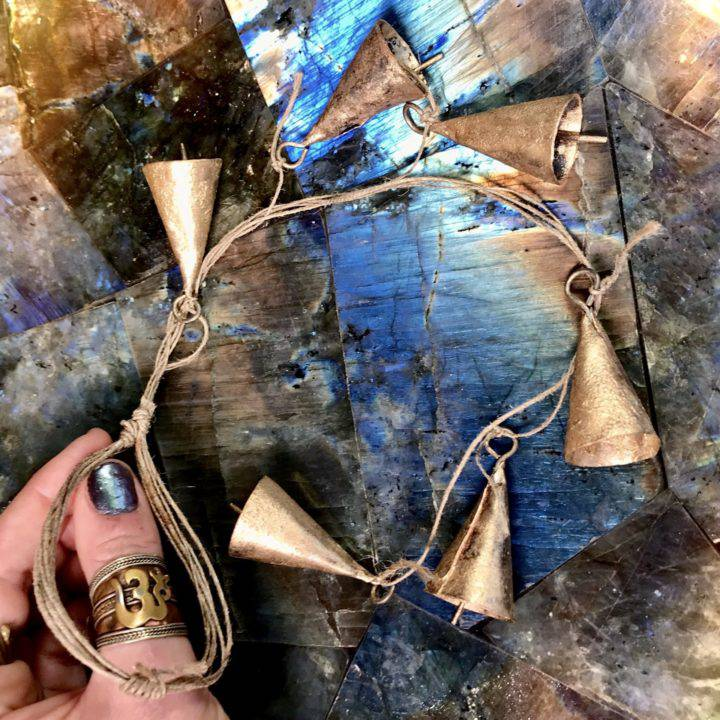 Recycled Iron Bell Chimes