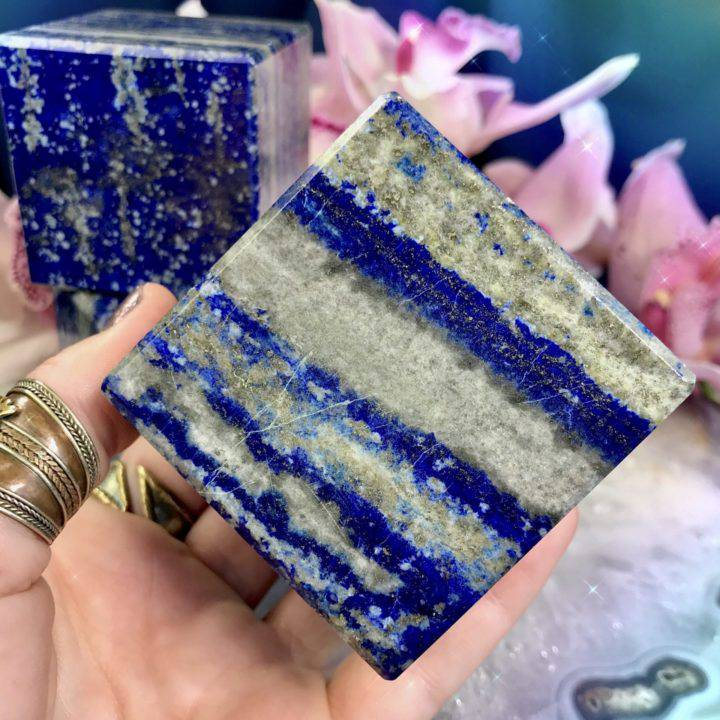 Lapis Lazuli Priestess Cubes