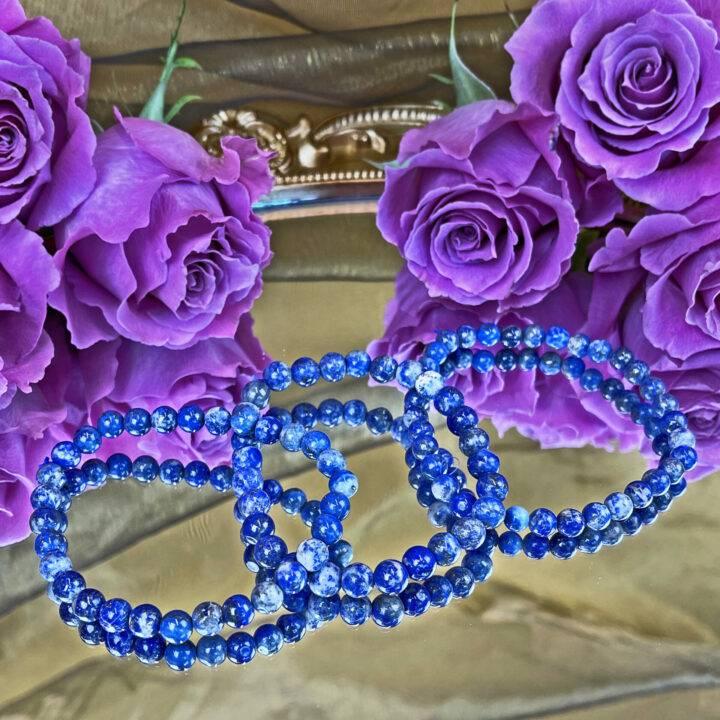 Lapis Lazuli Queens Bracelet