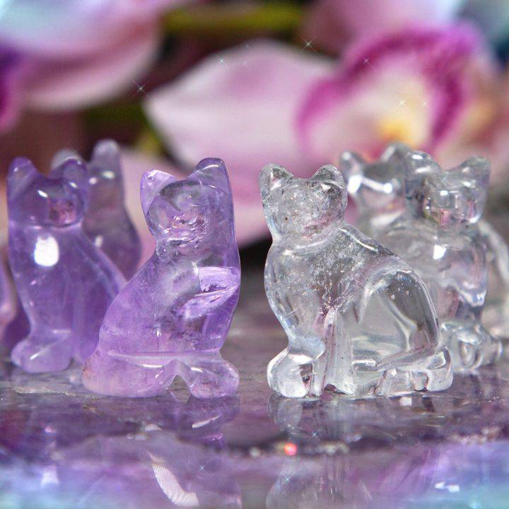 Mystery and Magic Gemstone Cats