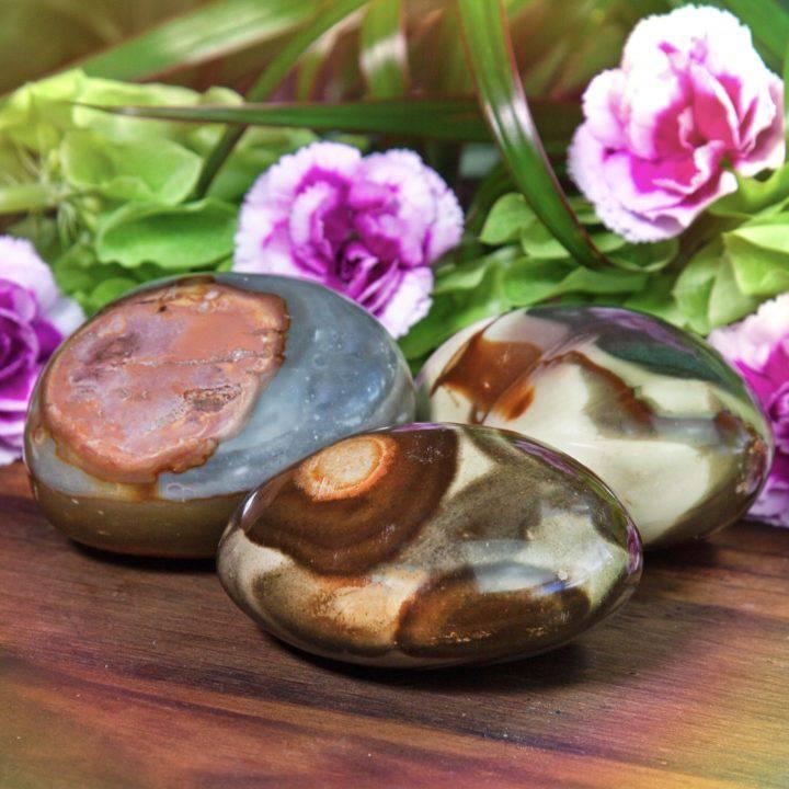 Polychrome Jasper Meditation Stones