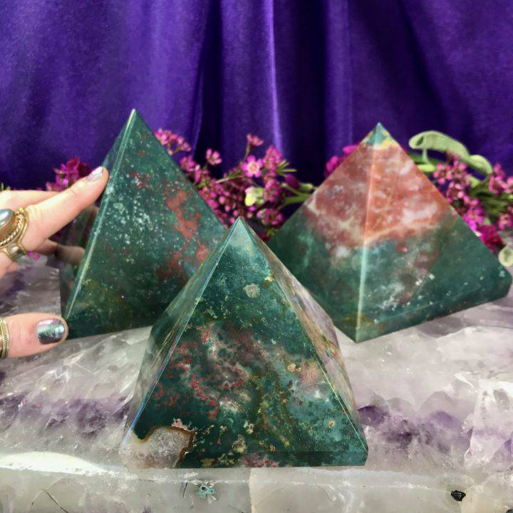 Rejuvenating Bloodstone Pyramids