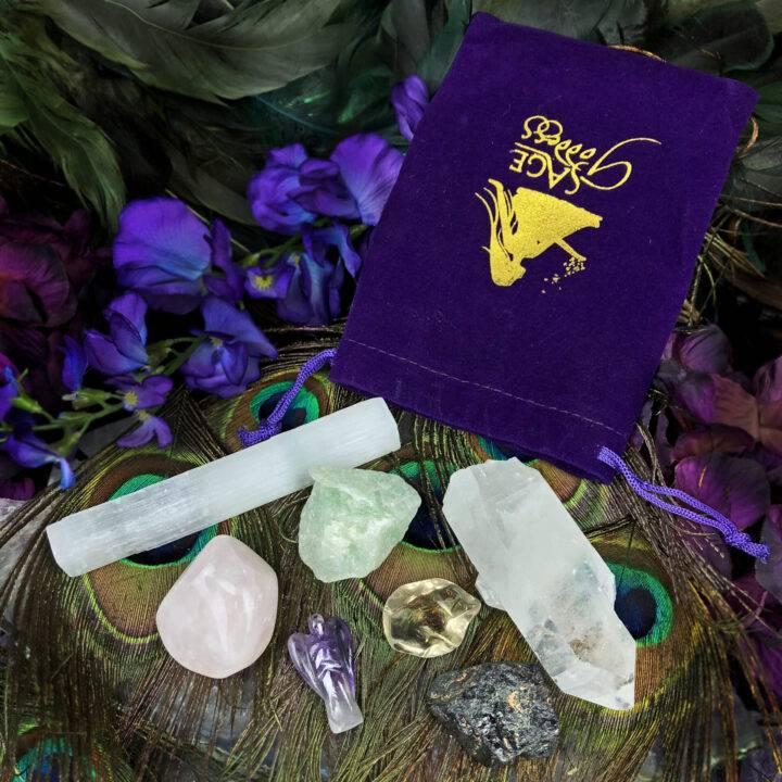 Simple Ritual Beginners Gemstone Set