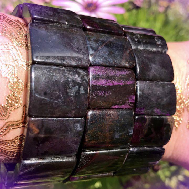 Sugilite Master Healer Bracelets